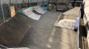 総合運動場スケートボード場