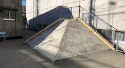 総合運動場スケートボード場ピラミッド大