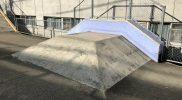 総合運動場スケートボード場ピラミッド小